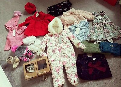 All BNWT baby girl clothes 0-3 3-6