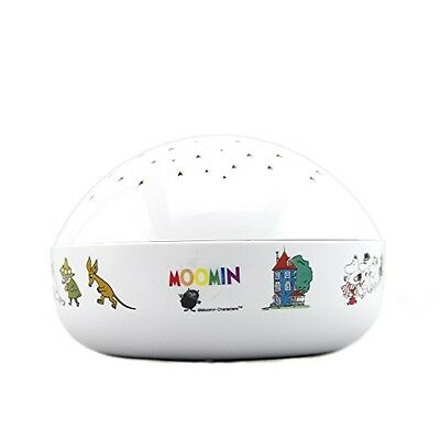 """Moomin """"Touch Active, Easy Clean"""" Twilight Constellation Galaxy Round Projector"""