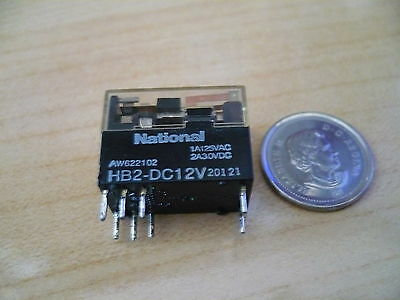 National HB2-DC12V relay