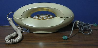 Genie Vintage Touchtone Telephone - Cream Colored American Telecommunications
