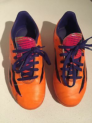 Adidas Football Boots Orange Size 13.5 Junior