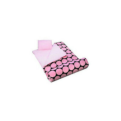 Wildkin Big Dots-Pink Sleeping Bag