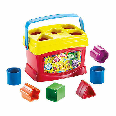 Fisher Price Baby's First Blocks Shapes Carry Along Play Baby Toy