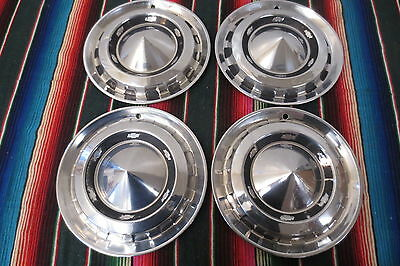 1956 Chevrolet Chevy Belair 150 210 Nomad Hubcaps Wheel Covers Hub Caps