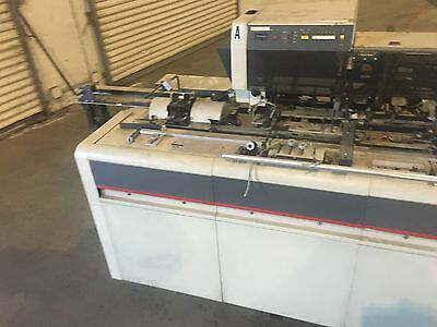 Bell & Howell Mailstar 400 Inserter Mailcrafter, Pitney Bowes, Kirk Rudy, Secap