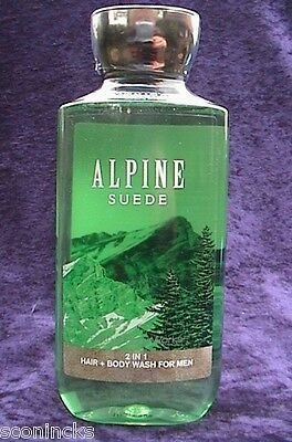 Bath & Body Works Douchegel Alpine Suede Men Shower Gel 2in1 295 ml