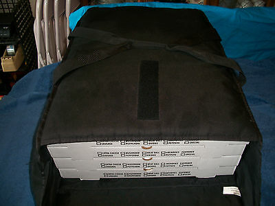 Lot of 3 Bag Solutions Pizza Insulated Delivery/Carrier Bags (1 Sheet.2 Large)