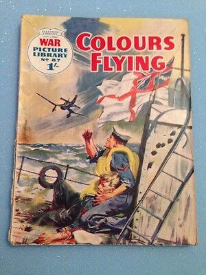 War Picture Library No 87 Colours Flying