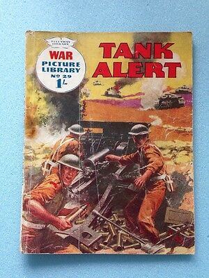 War Picture Library No 29 Tank Alert