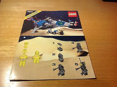 Lego - Space - set of instructions for FX-Star Patroller no 6931