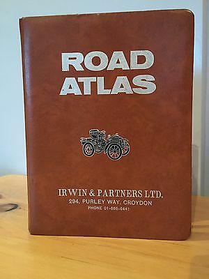 VINTAGE ROAD ATLAS BOOK By IRWIN & PARTNERS LTD  - 112 PAGES