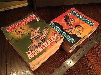 33 Starblazer Comics Space Fiction Adventure In Pictures Collection Bulk Lot