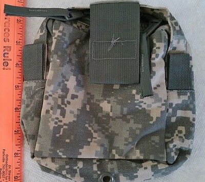 NEW US Military Issue Medic First Aid Pocket Molle Pouch Army ACU Camo Kit Bag