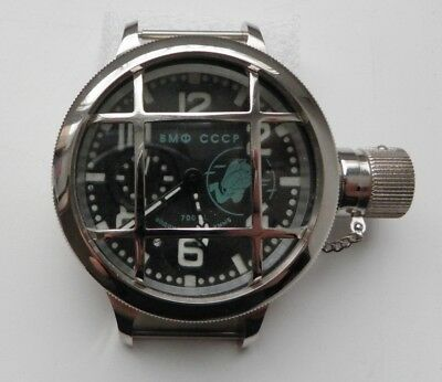 Russian Ussr Military Navy Diver Watch Wristwatches Diving 69