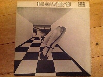 """YES - Time And A Word, Vinyl LP Record 12"""" FRANCE 1973"""