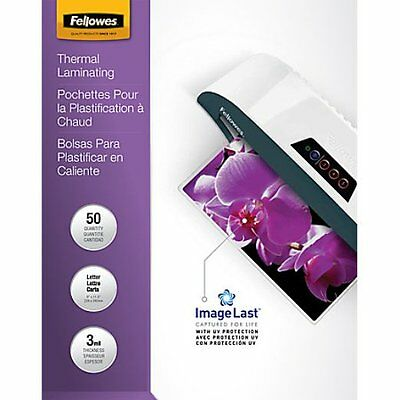 Fellowes Letter Size Laminating Pouches, 50 Count (CRC52005)