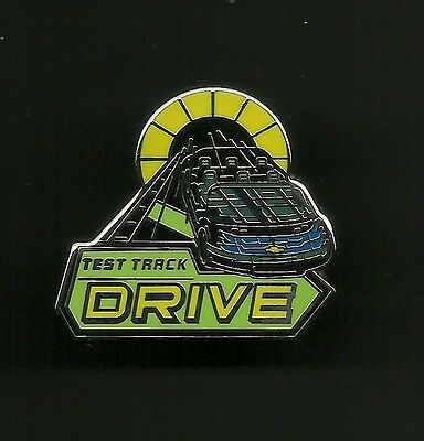 Test Track DRIVE from the Epcot Attraction Splendid Disney Pin