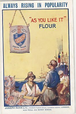 Joseph Rank Ltd, Always Rising in Popularity, As You Like It Flour.