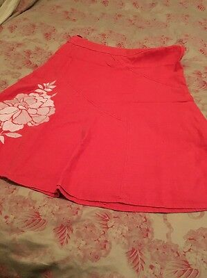 Ladies Linen Skirt From Next Size 14