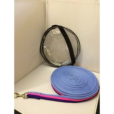 Sheldon Elite Lunge Reins - made in uk - lunging line training