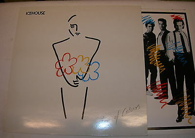 Icehouse - Man Of Colours - Vinyl LP - EX with picture inner sleeve - UK press