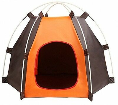 Pet House Folding Kennel Cat Dog Bed Tent Portable Washable Shelter Waterproof
