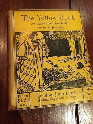 The Yellow Book : An Illustrated quarterly Volume VI