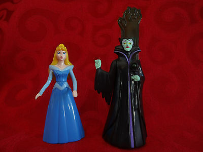 1996 Maleficent & Sleeping Beauty McDonald's Happy Meal Toys Disney Collectible