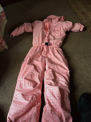 Girls Dare2b Age 9-10 Ski Suit In Excellent Condition