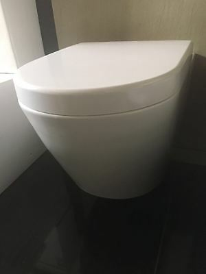 Heavy duty quality toilet seat closed coupled toilet soft close slow closing