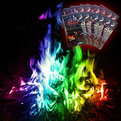 12-Pack - Big Fire - Add colorful flames to any wood fire instantly!