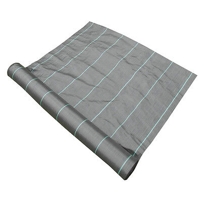 1.5m x 500m Yuzet Weed Control Ground Cover Membrane Landscape Fabric Heavy Duty