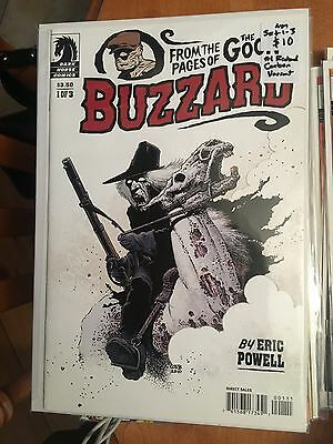 BUZZARD #1-3 NM 1st Print Set RICHARD CORBEN #1 VARIANT Eric Powell The Goon
