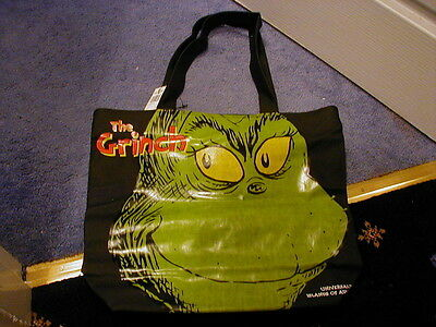 Dr Seuss Grinch Who Stole Christmas Tote/shoulder  Bag  Brand New Very Rare