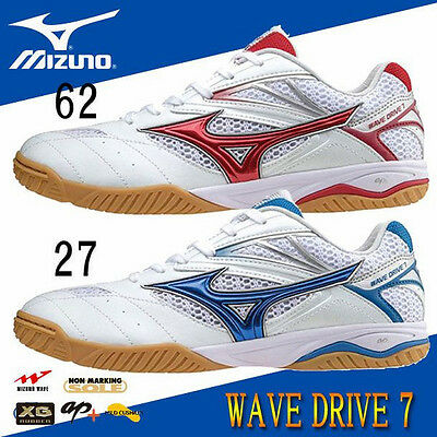 New Mizuno Table tennis Shoes Wave Drive 7 Freeshipping!!