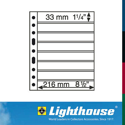 Lighthouse GRANDE Sheets Black Size 8S Pack of 5