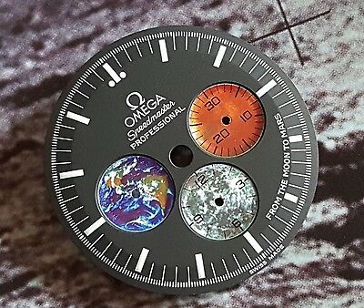 Special Offer New 3577.50 Omega Speedmaster Moon To Mars Dial Limited Moon Watch