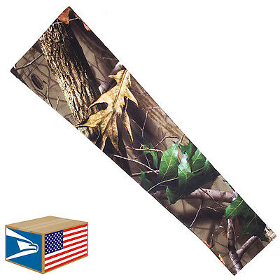 COMPRESSION ARM ELBOW SLEEVE Real Tree Camo Camouflage HUNTING YS/YM/YL/S/M/L/XL