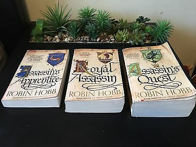 The Farseer Trilogy By Robin Hobb Paperback Book