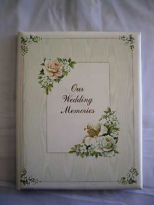 Wedding Record Book  Cherished Bouquet OUR WEDDING MEMORIES