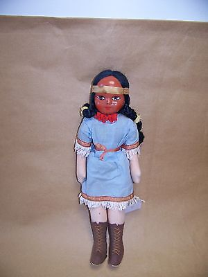 Antique Vintage Native American Indian  Doll