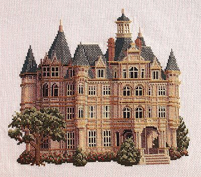 Completed Cross Stitch Debbie Patrick Victorian
