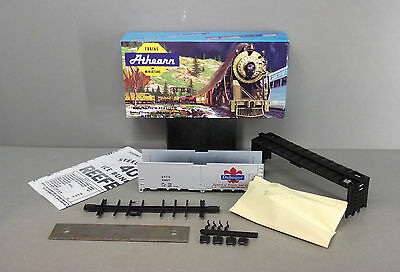 Athearn HO Scale Train 40ft Box Car Kit - Dubuque - (Unbuilt Started Kit)
