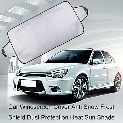 Car Windscreen Cover Anti Snow Frost Shield Dust Protection Heat Sun Shade SV