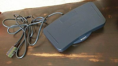 Sony FS-85 Foot Control Unit Transcription and Voice Dictation Pedal Transcriber