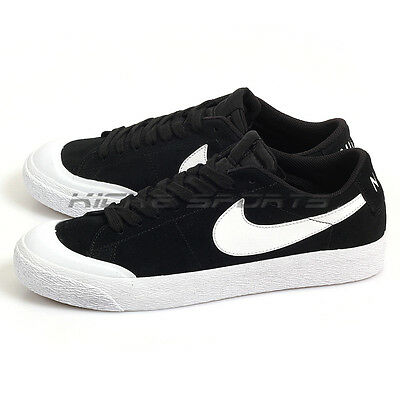 6bae00717893 Nike SB Blazer Zoom Low XT Black White-Gum Light Brown Skateboarding 864348-