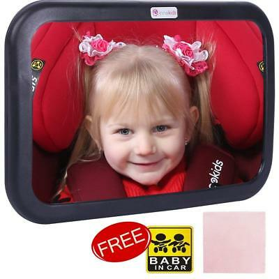 Baby Car Mirrors Child Toddler Adjustable Back Seat Rear Ward Safety View Mirror