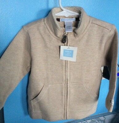 janie and jack Sweater Moose Cabin Line Size 12-18 Months