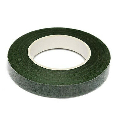 Green Roll Waterproof Oasis Corsages Florist Plastic Stem Tape Wrap Super 1pc