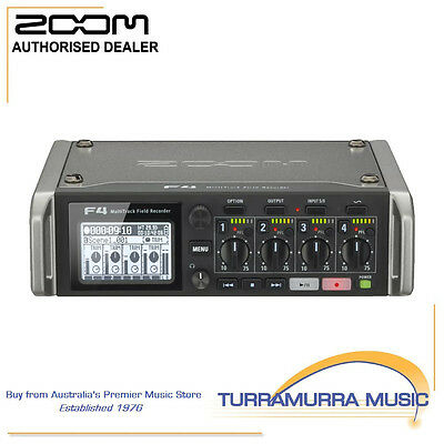 Zoom F4 Multi-Track Field Recorder with Free PCF-4 Bag
